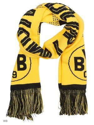 Шарф BVB Fan Scarf Puma. Цвет: желтый