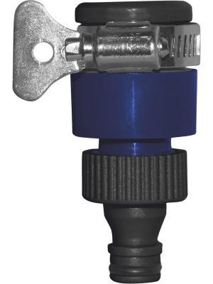 Адаптер для безрезьбовых кранов (до 18мм) GREEN APPLE. Цвет: синий, черный