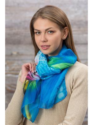 Палантин Krife. Цвет: голубой, розовый, салатовый