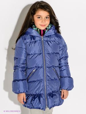 Пальто Bomboogie Kids. Цвет: синий