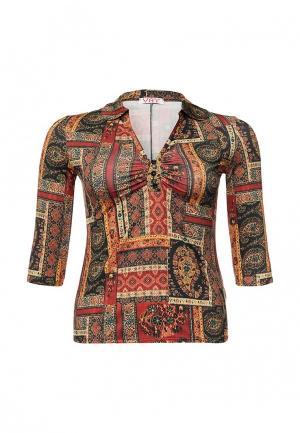 Блуза Vay. Цвет: разноцветный