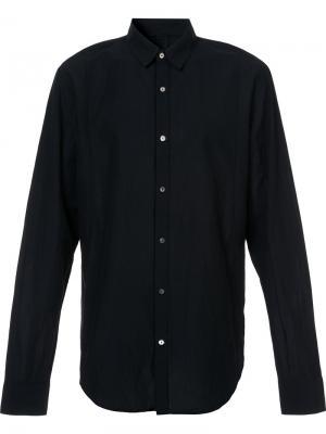 Рубашка с простроченной отделкой Forme Dexpression D'expression. Цвет: чёрный