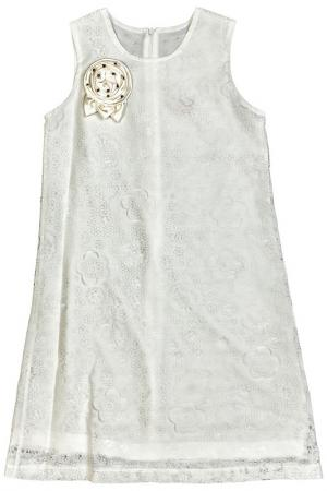 Платье Lilax Baby. Цвет: белый