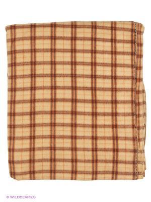 Плед Shelter. Цвет: коричневый, красный