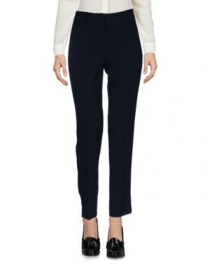 Повседневные брюки IRMA BIGNAMI. Цвет: темно-синий