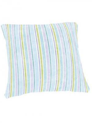 Декоративная подушка МарТекс. Цвет: голубой