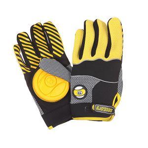 Перчатки  Apex Gloves Yellow Sector 9. Цвет: черный,желтый,серый