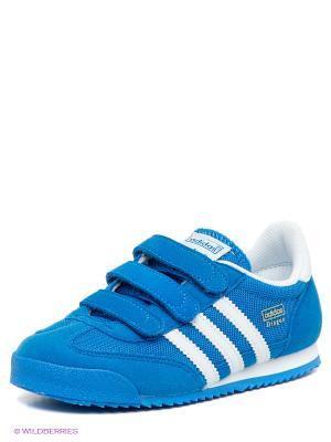 Кроссовки Dragon Adidas. Цвет: синий, белый
