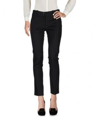Повседневные брюки TRY ME. Цвет: черный
