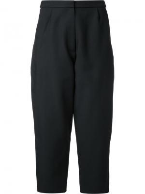 Укороченные брюки свободного кроя Studio Nicholson. Цвет: чёрный