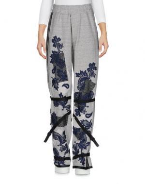 Повседневные брюки JAMES LONG. Цвет: серый