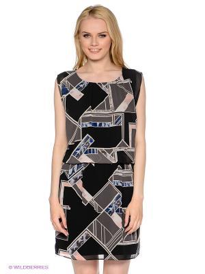 Платье MEXX. Цвет: черный, серый, молочный, бледно-розовый