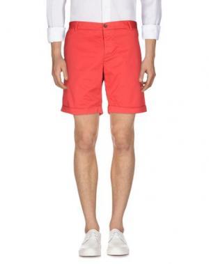 Повседневные шорты BASICON. Цвет: красный