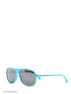 Очки солнцезащитные TM 021S 05 Opposit. Цвет: бирюзовый