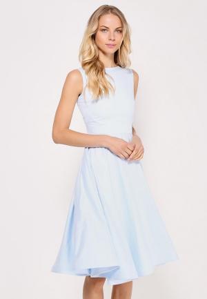 Платье Kira Mesyats. Цвет: голубой