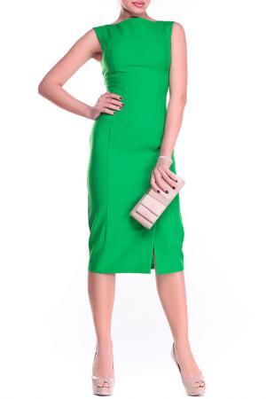 Платье REBECCA TATTI. Цвет: зеленый