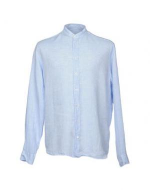 Pубашка EXIBIT. Цвет: небесно-голубой