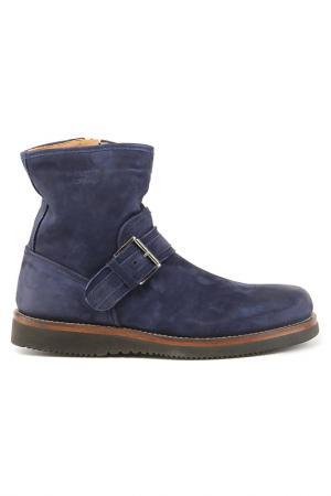 Ботинки Alexander Hotto. Цвет: темно-синий