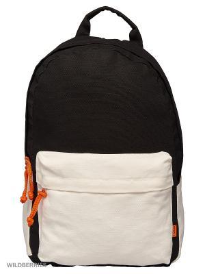 Городской рюкзак TIMBAG. Цвет: черный, белый