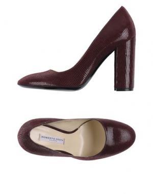 Туфли ROBERTO FESTA. Цвет: красно-коричневый