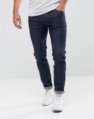 Bellfield Зауженные джинсы цвета индиго. Цвет: синий