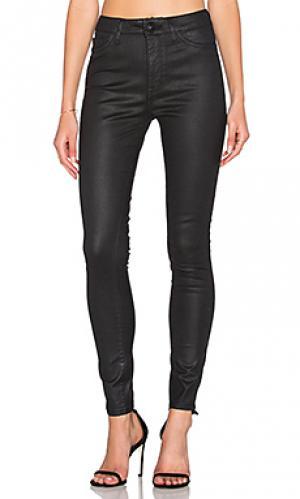 Супер узкие джинсы с ультра высокой посадкой no. 1 DL1961. Цвет: none