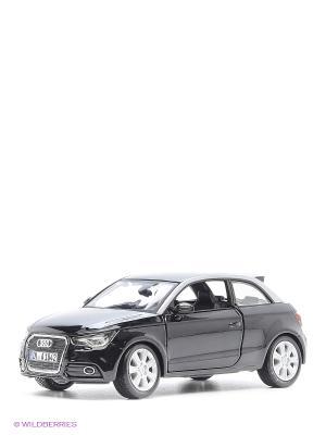 1:24 BB Машина AUDI A1 металл.# Bburago. Цвет: антрацитовый, темно-серый, серебристый