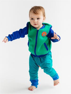Куртка детская Пава Yuumi. Цвет: зеленый