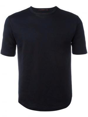 Базовая футболка The Gigi. Цвет: синий