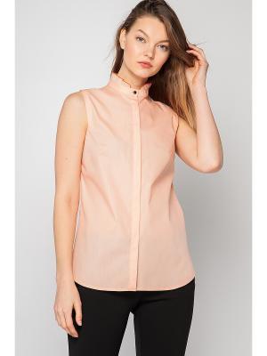 Блузка Limonti. Цвет: персиковый