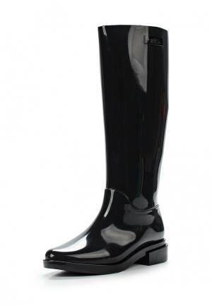Резиновые сапоги Melissa. Цвет: черный
