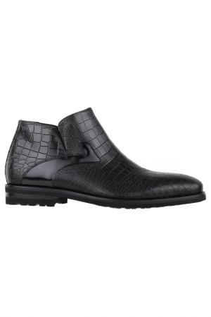 Ботинки на молнии Gianfranco Butteri. Цвет: черный