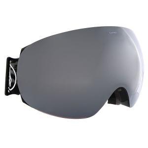 Маска для сноуборда  Eg3 Volcom X Colab+Black/Brose/Silver Chrome Electric. Цвет: зеленый,черный,серый