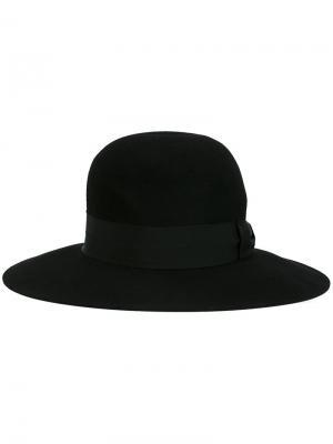 Шляпа-федора Super Duper Hats. Цвет: чёрный