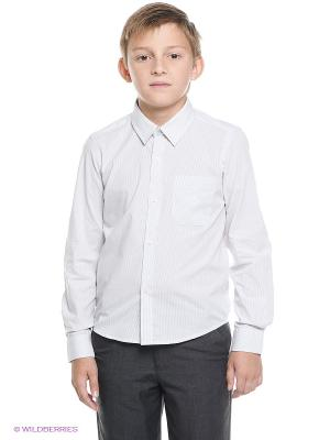 Рубашка Nota Bene. Цвет: светло-серый