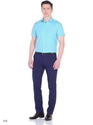 Рубашка BIRIZ. Цвет: голубой, светло-голубой