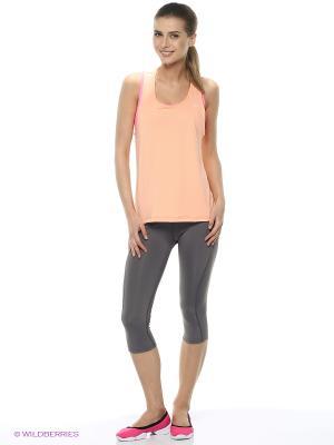 Комплект: брюки, топ, футболка Freddy. Цвет: оранжевый, серый, фуксия