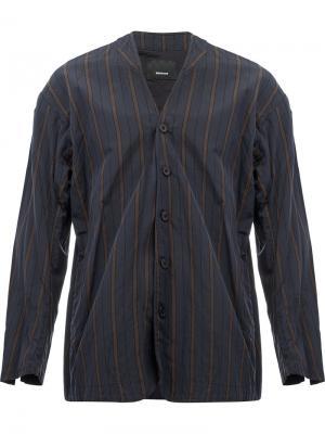 Пиджак в полоску 08Sircus. Цвет: серый