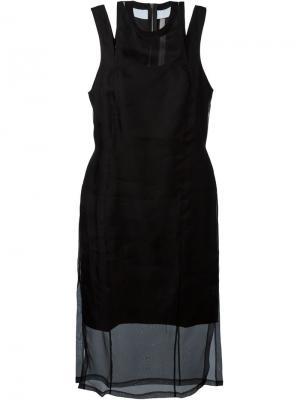 Платье Dana Silent Damir Doma. Цвет: чёрный