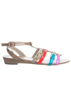 Sandals Laura Biagiotti. Цвет: beige, multicolor