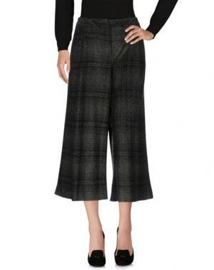Повседневные брюки PAOLA ROSSINI. Цвет: зеленый-милитари