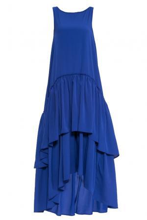 Платье 160674 Infinee. Цвет: синий