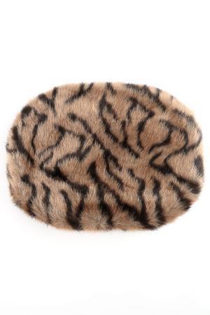 Муфта меховая LAVELLE. Цвет: леопард