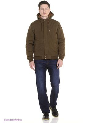 Куртка PEPE JEANS LONDON. Цвет: коричневый
