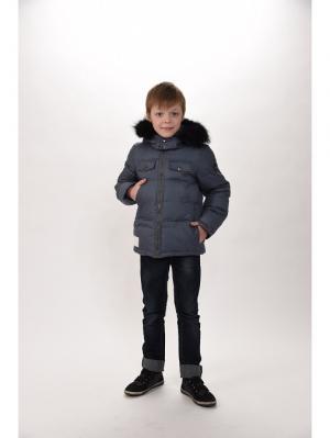 Куртка для мальчиков TOPKLAER. Цвет: серый