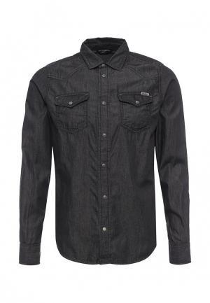 Рубашка джинсовая Diesel. Цвет: серый