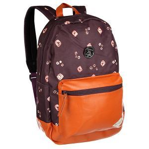 Рюкзак городской  Personal Mauvewood Billabong. Цвет: коричневый,фиолетовый