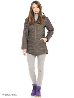 Куртка Trespass. Цвет: коричневый