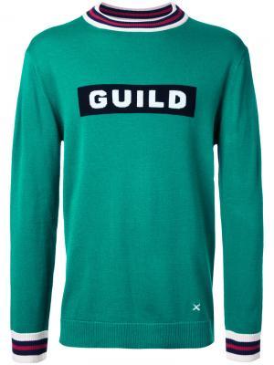 Толстовка Guild Prime. Цвет: зелёный