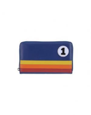 Бумажник YAZBUKEY. Цвет: синий
